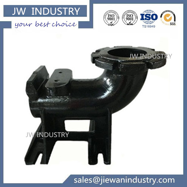 Customized Base Elbow iron casting parts